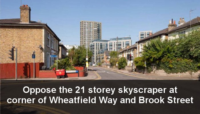21 storey tower block for Kingston?