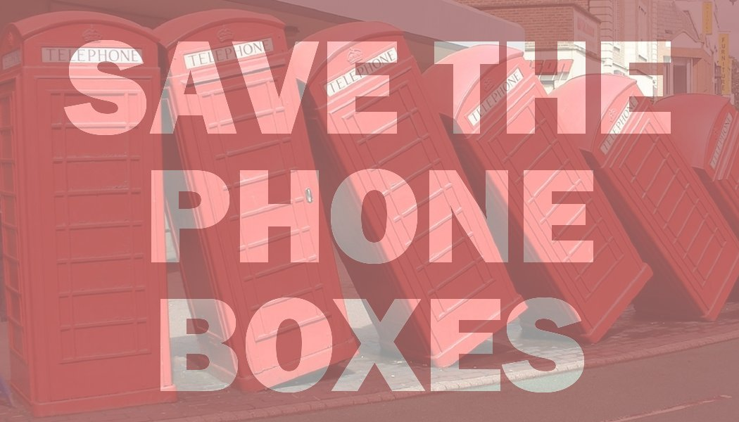 Help us save Kingston's tumbling phone boxes