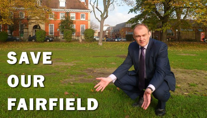 Save our Fairfield - sign the petition
