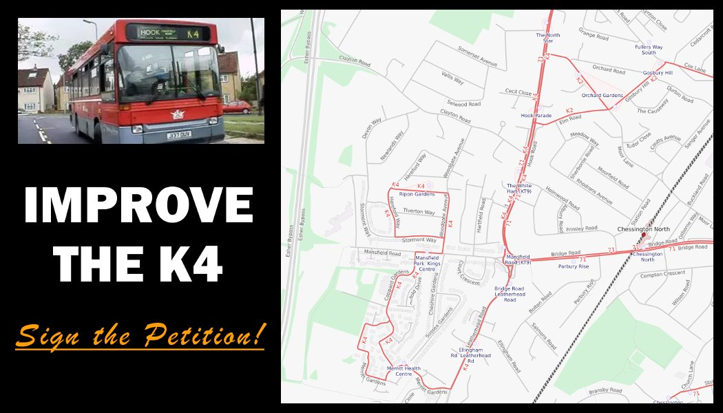 Petition to improve the K4 bus service