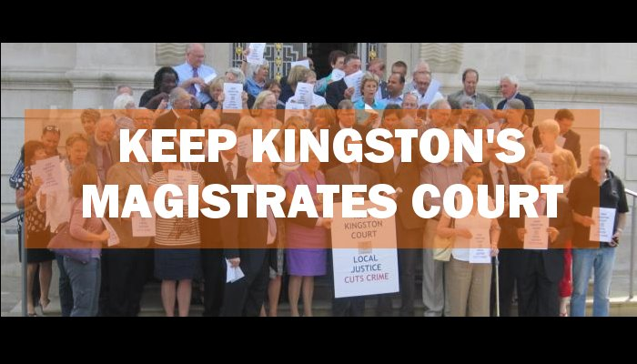 Keep Kingston's Magistrates' Court