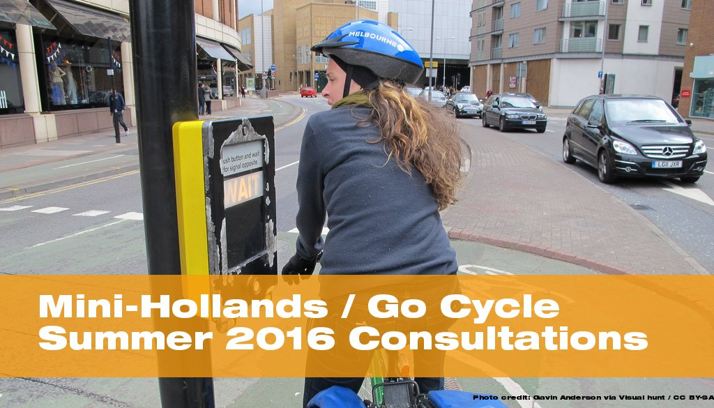 Go Cycle Summer 2016 Consultations