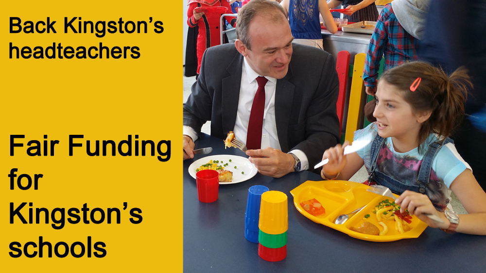 Fair Funding for Kingston's schools