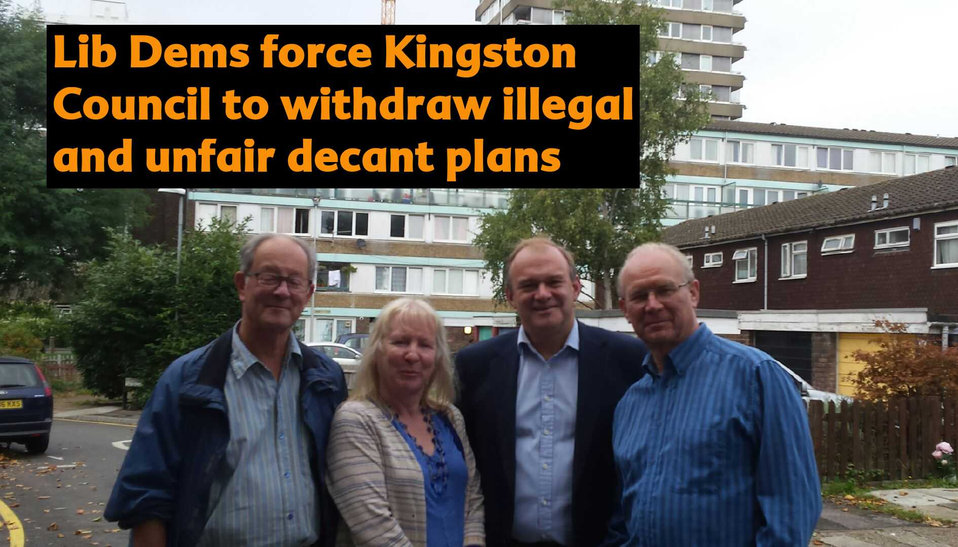 Lib Dems force Kingston Council to withdraw illegal & unfair resident plans
