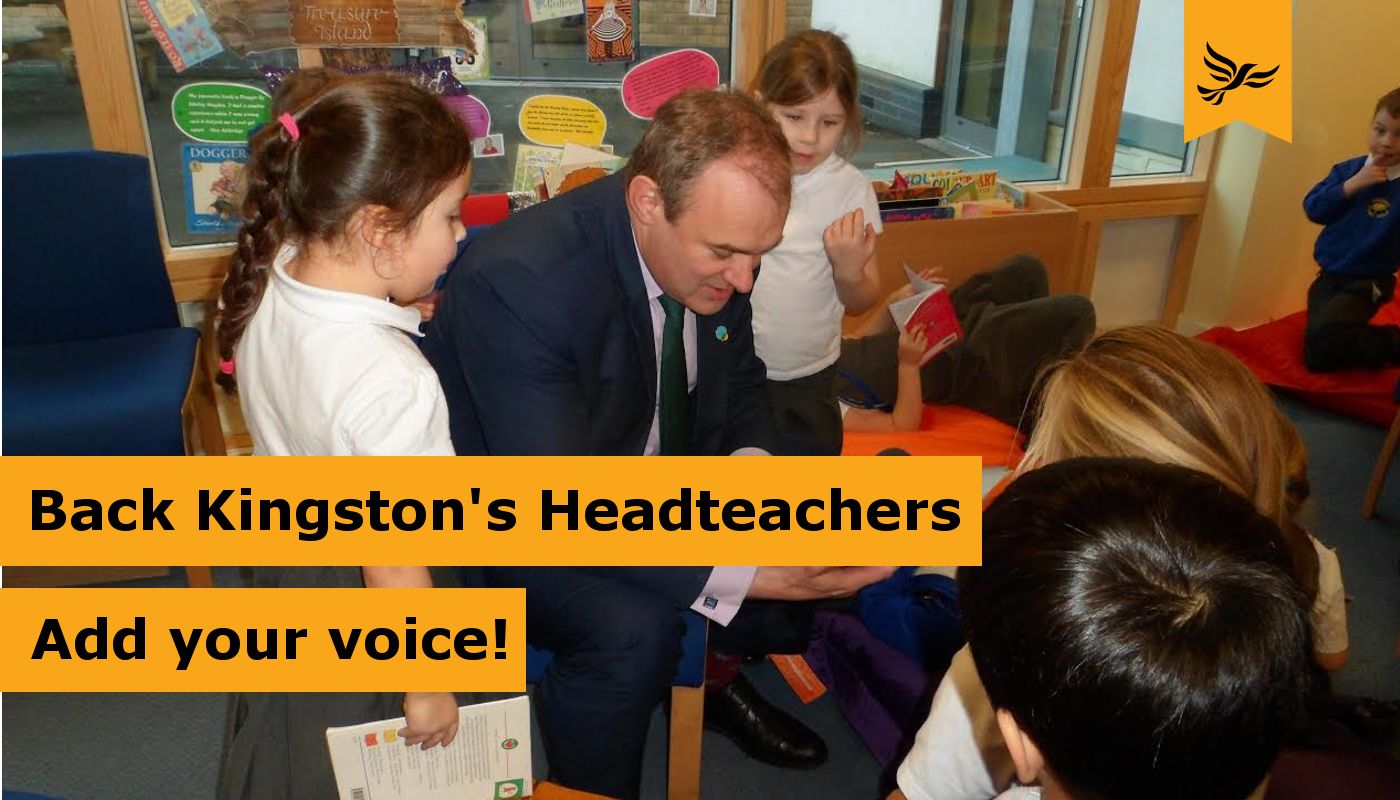 Back Kingston's Headteachers