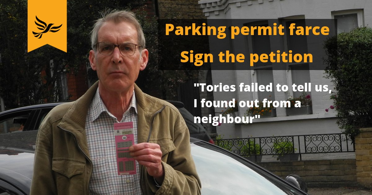 kingston parking permit petition