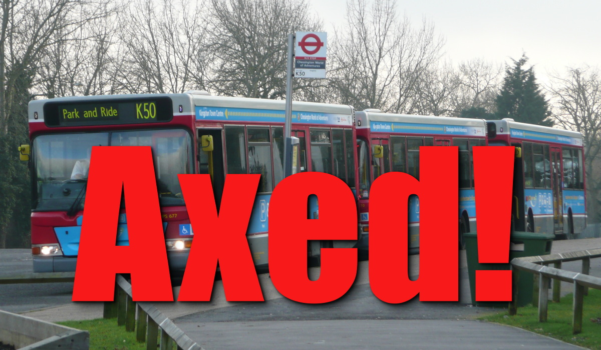 Chessington Park and Ride Axed by Kingston Conservatives