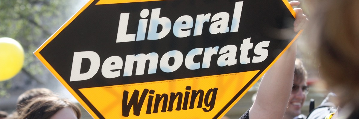 Liberal Democrats winning here