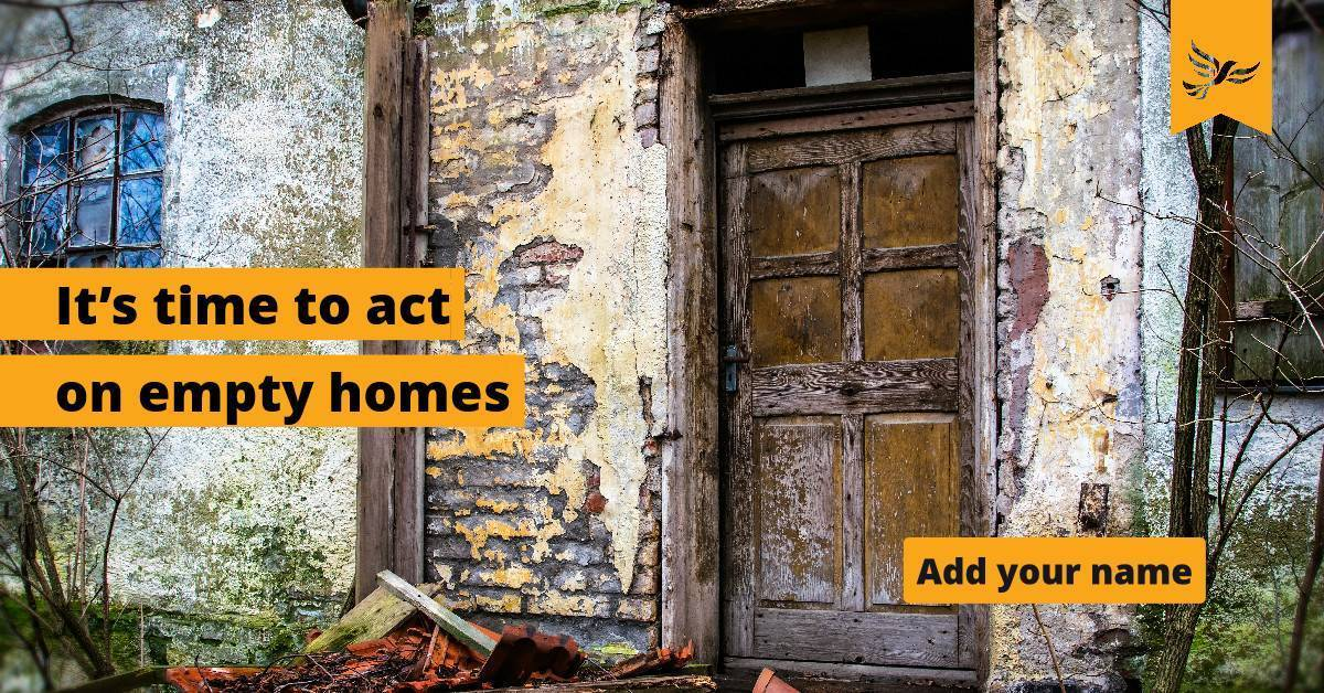 Time to act on empty homes