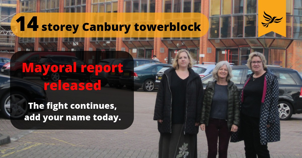 Canbury Business Park Petition