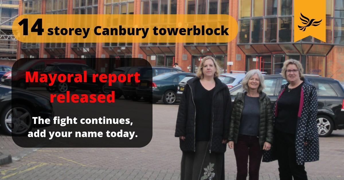 Canbury Business Park Petition