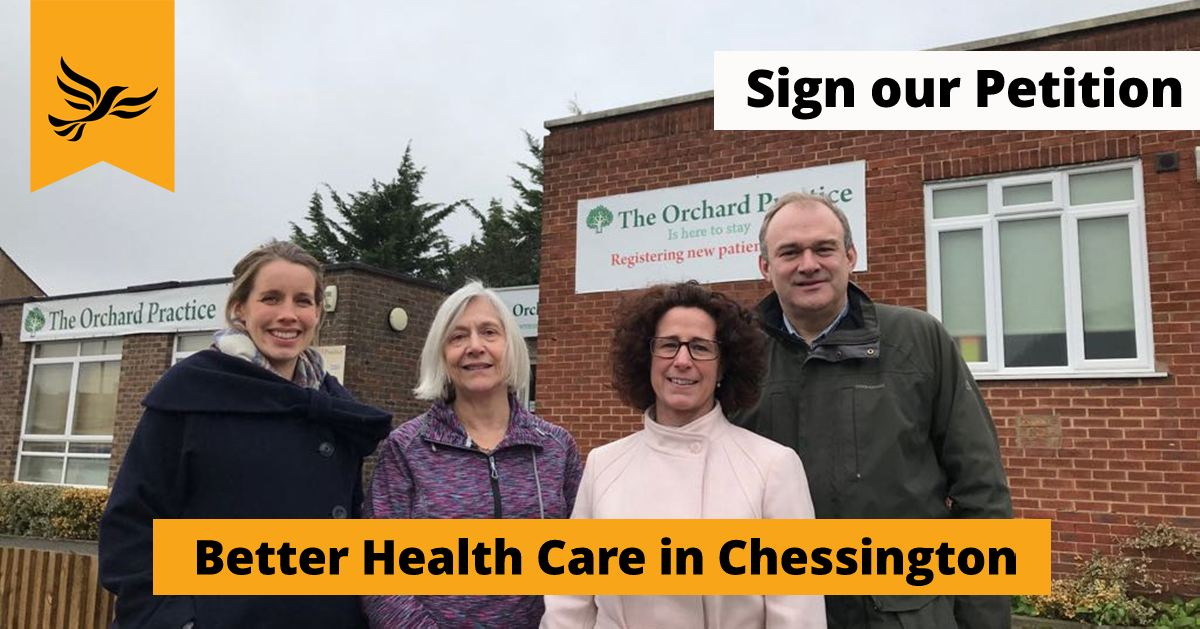 Better Health Care for Chessington and Hook