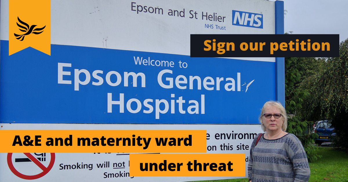 Epsom Hospital vital services under threat