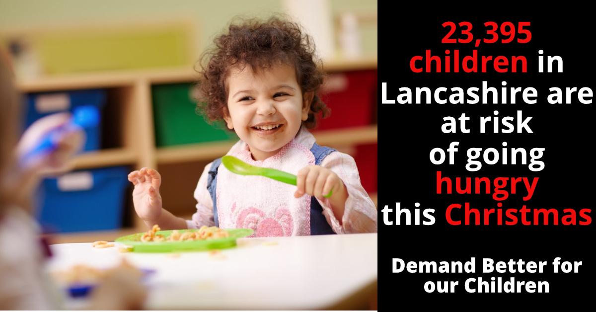Tories block Free School Meals Extension for 23,395 Children in Lancashire