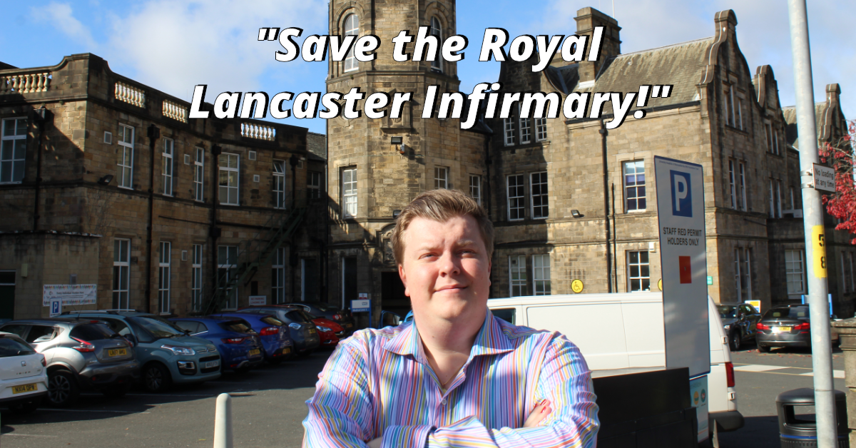"""Lib Dems say, """"Save the RLI!""""  as they submit petition to Health Secretary"""