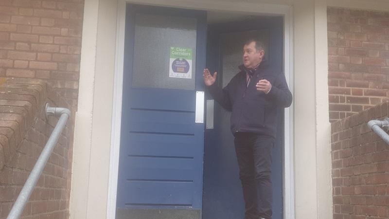 Delay over Fire Door Replacements