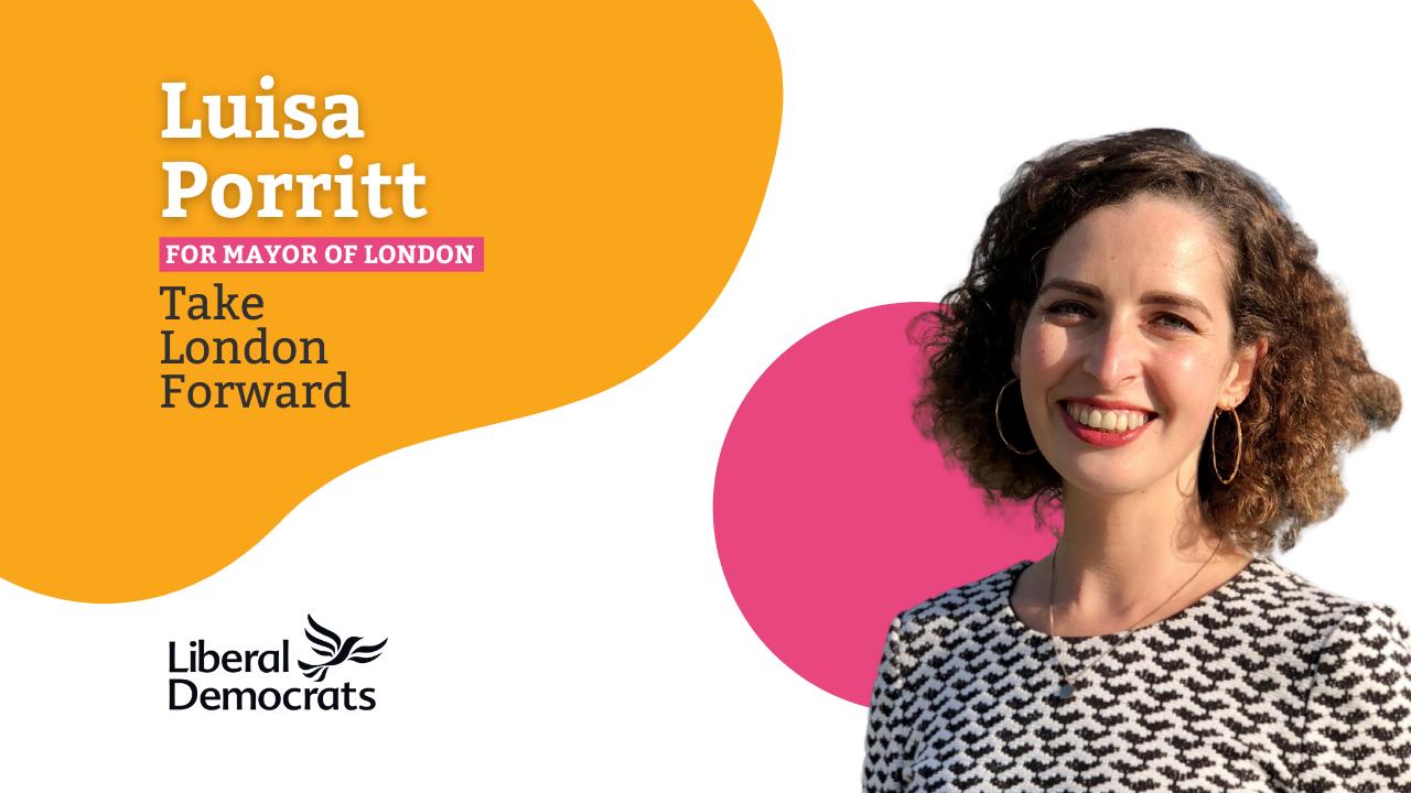 Luisa Porritt for Mayor of London