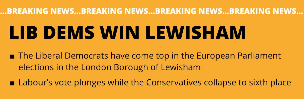 Lib Dems Win Lewisham