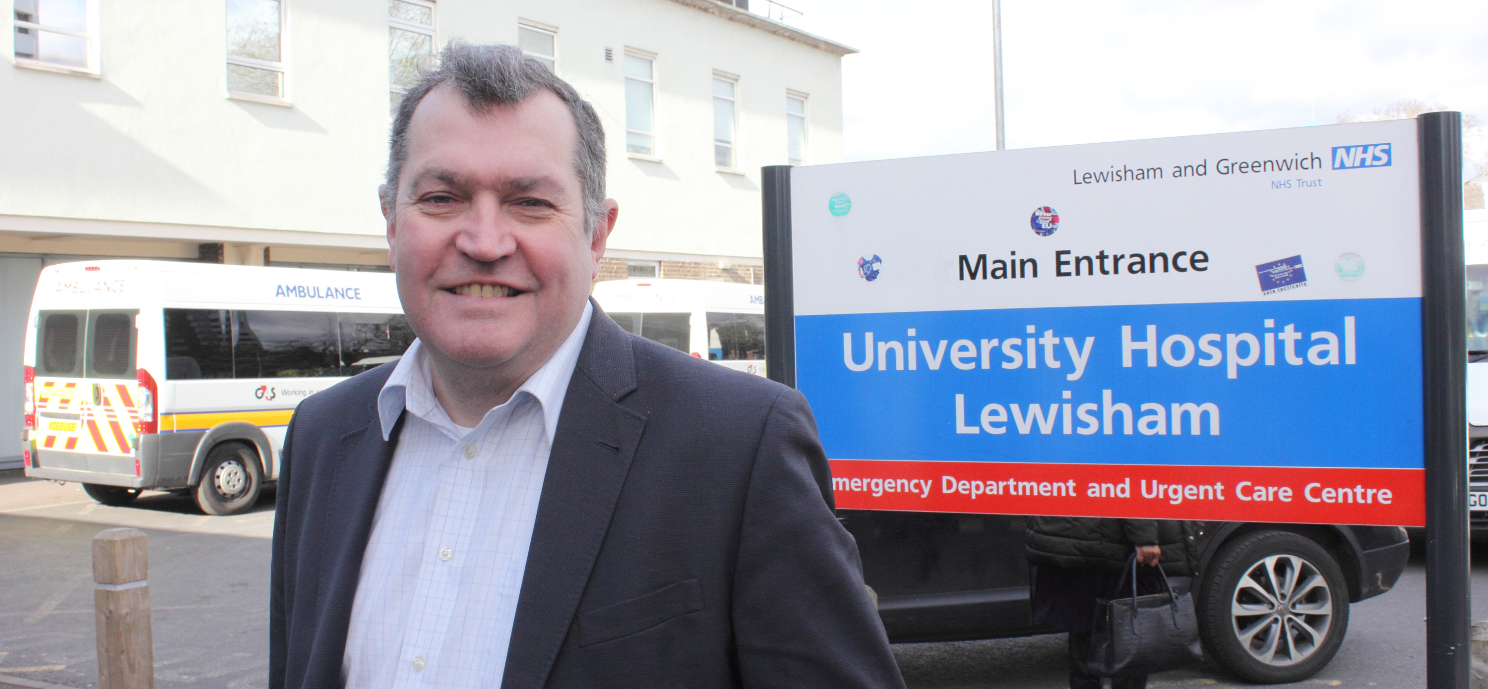 Tories starve Lewisham and Greenwich Hospitals of nearly £2 million