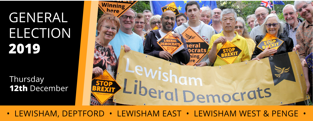 12th December: Vote Liberal Democrats to Stop Brexit