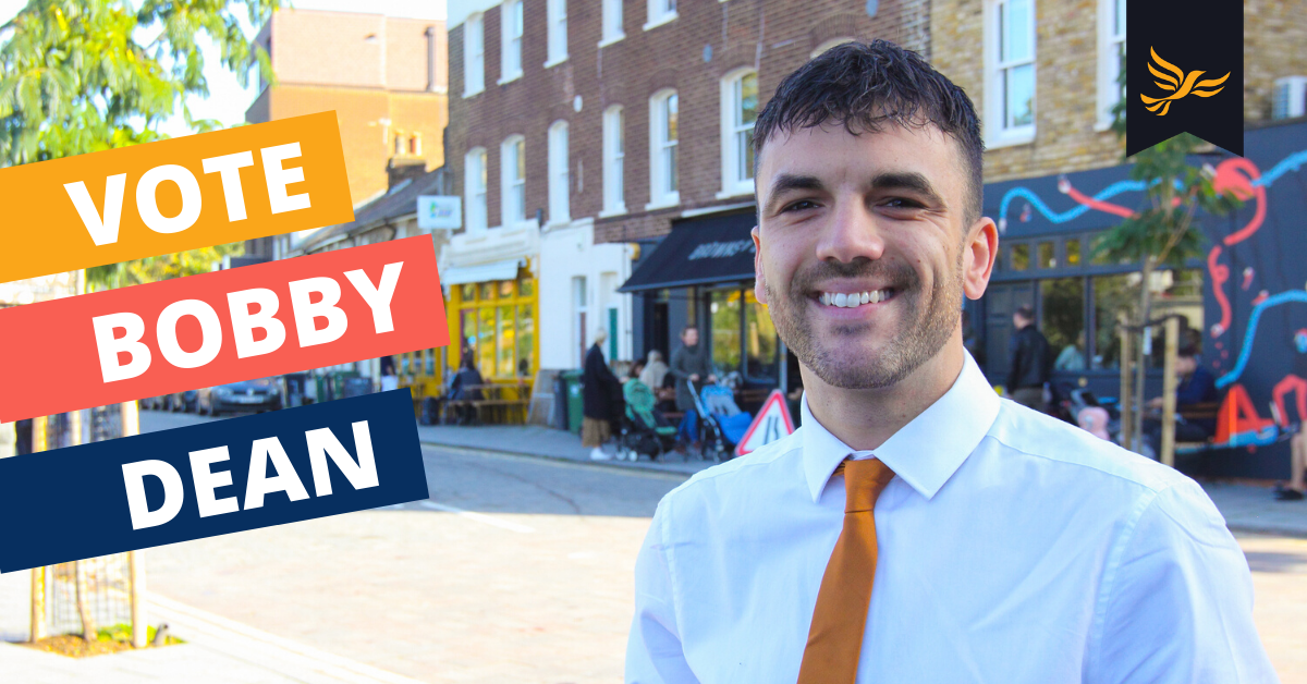 7 Reasons to vote Lib Dem In Lewisham Deptford