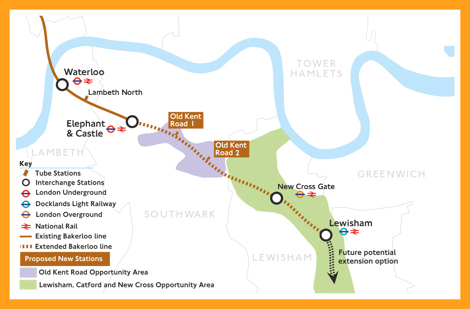 Back the Bakerloo extension - but make it work for Lewisham