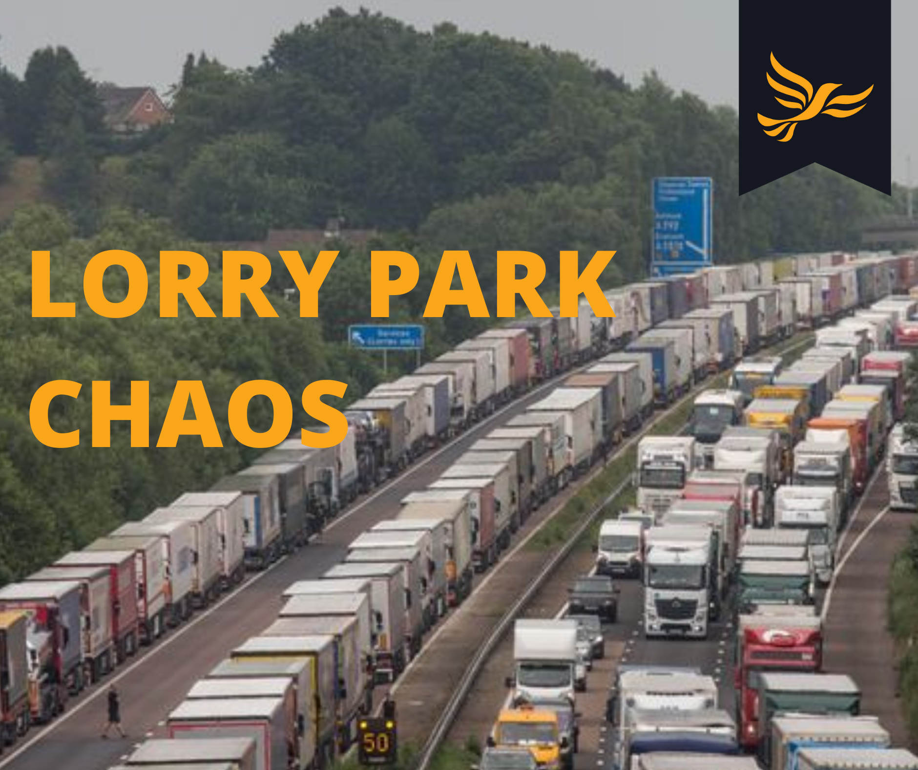 """Tell us where the lorry parks will go"" demands Liverpool Lib Dem councillor"
