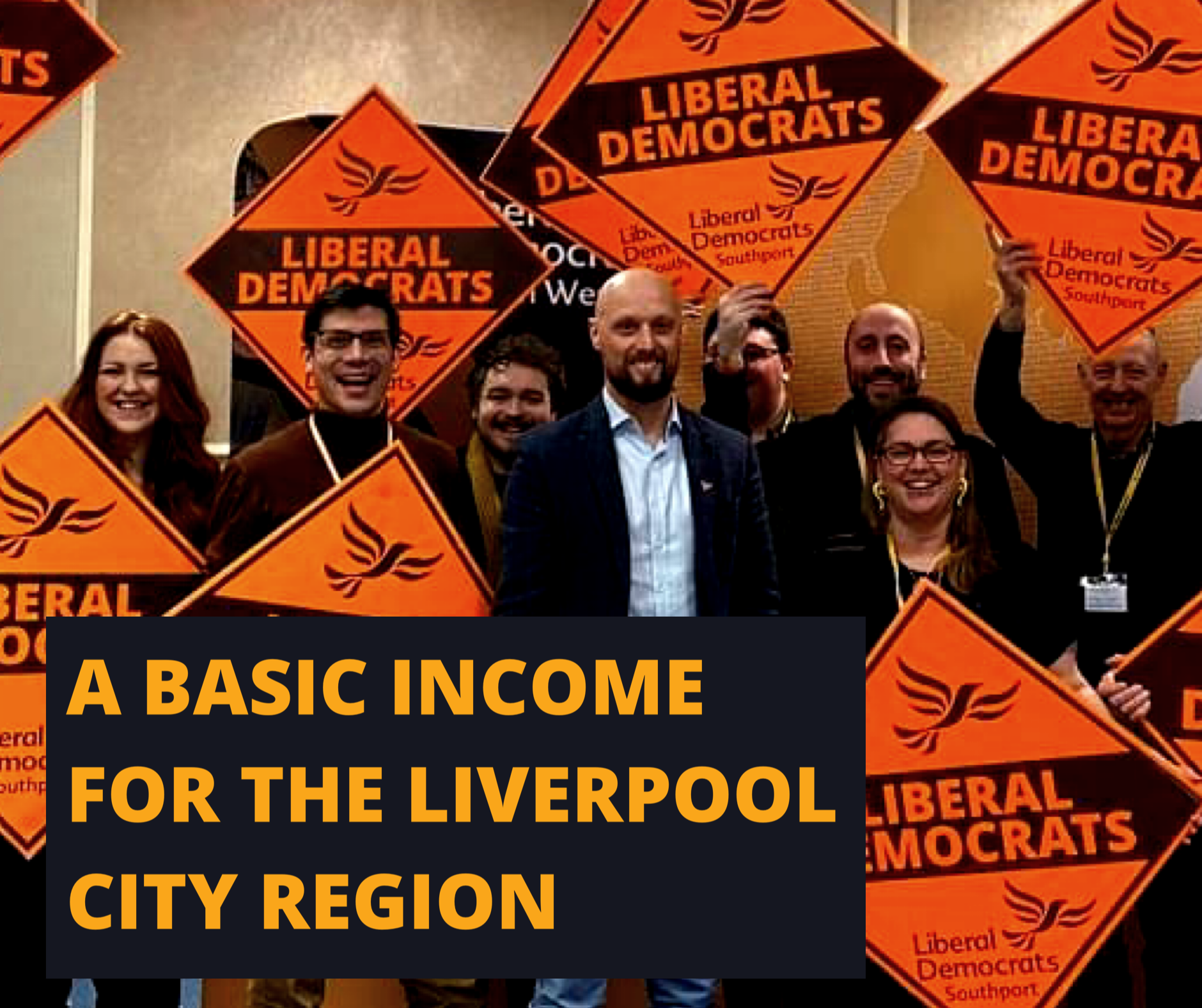 Lib Dem Metro Mayor candidate to trial UK's first basic income pilot