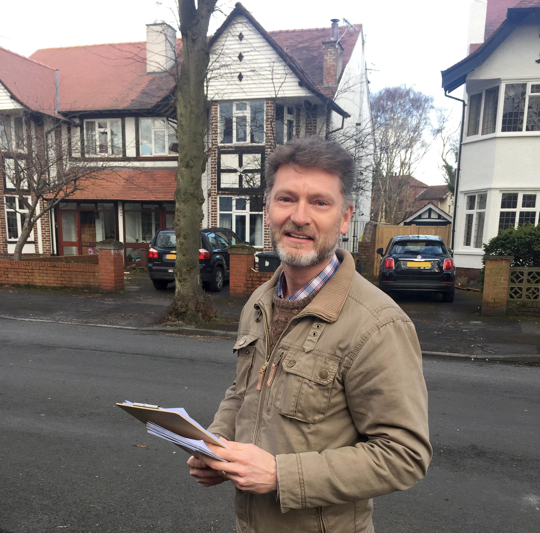 David Newman steps forward for Merseyside