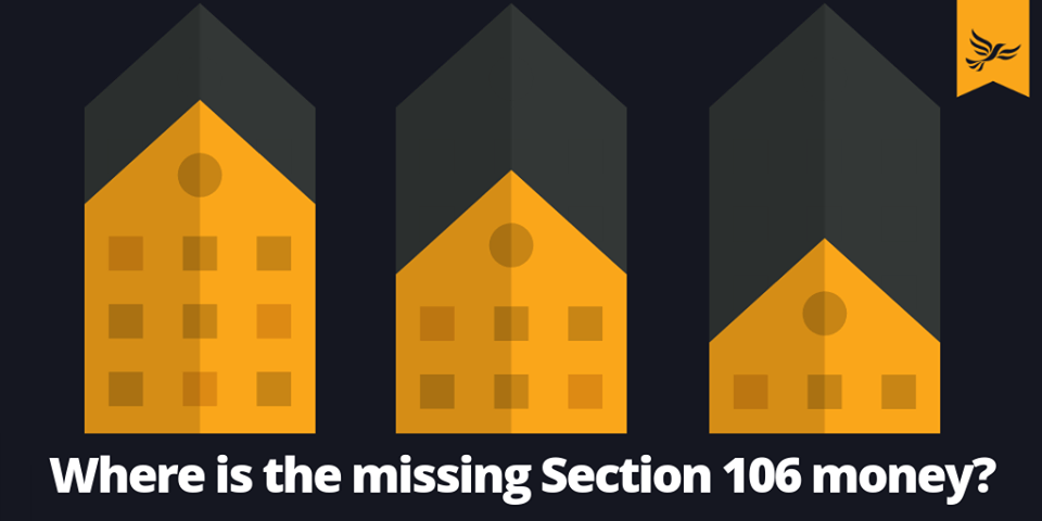 Lib Dems uncover Section 106 crisis