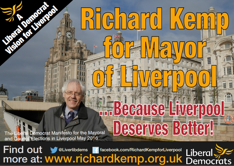 Liverpool Liberal Democrats Launch Manifesto Ahead of 5th May Elections