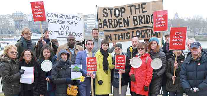 After a year of dithering the Mayor finally does the right thing on the Garden Bridge – Caroline Pidgeon