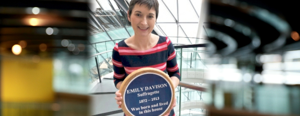 English Heritage finally recognising Emily Davison is long overdue – Caroline Pidgeon