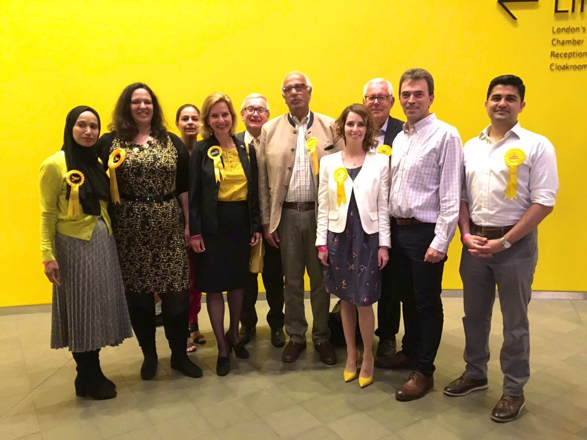 Liberal Democrats win EU elections in London - and send 3 MEPs to Europe