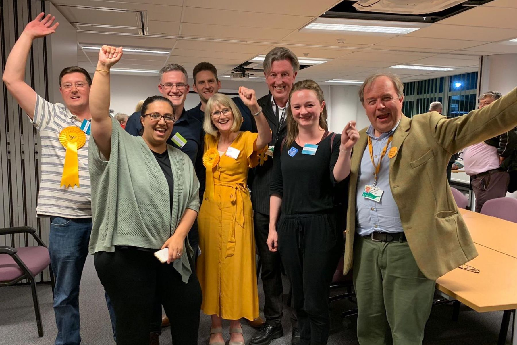 Lib Dems win Merton by-election in breakthrough against Labour