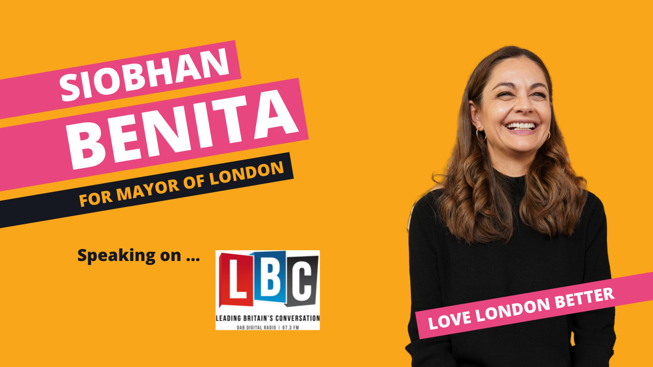 Siobhan Benita speaks to LBC about Knife Crime