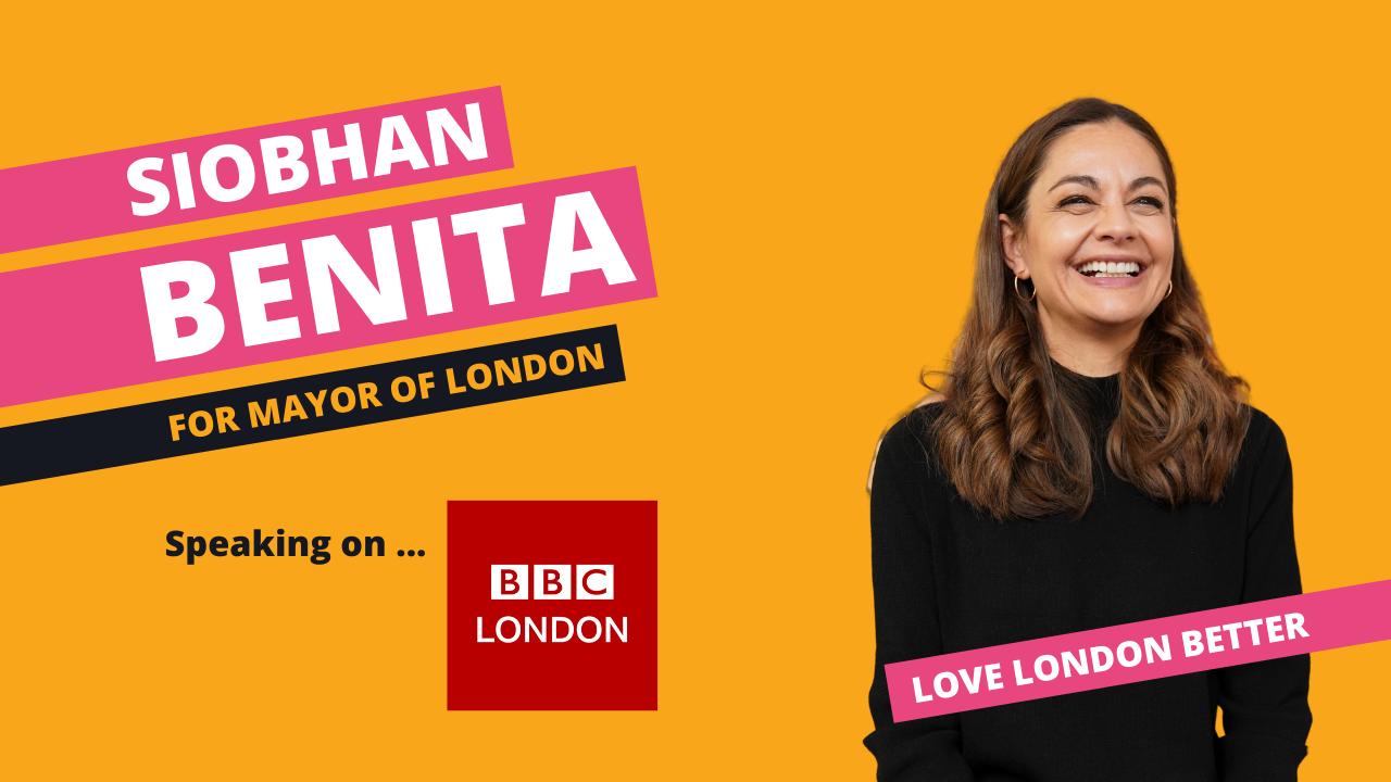 Siobhan Benita speaks to BBC London about legalising cannabis