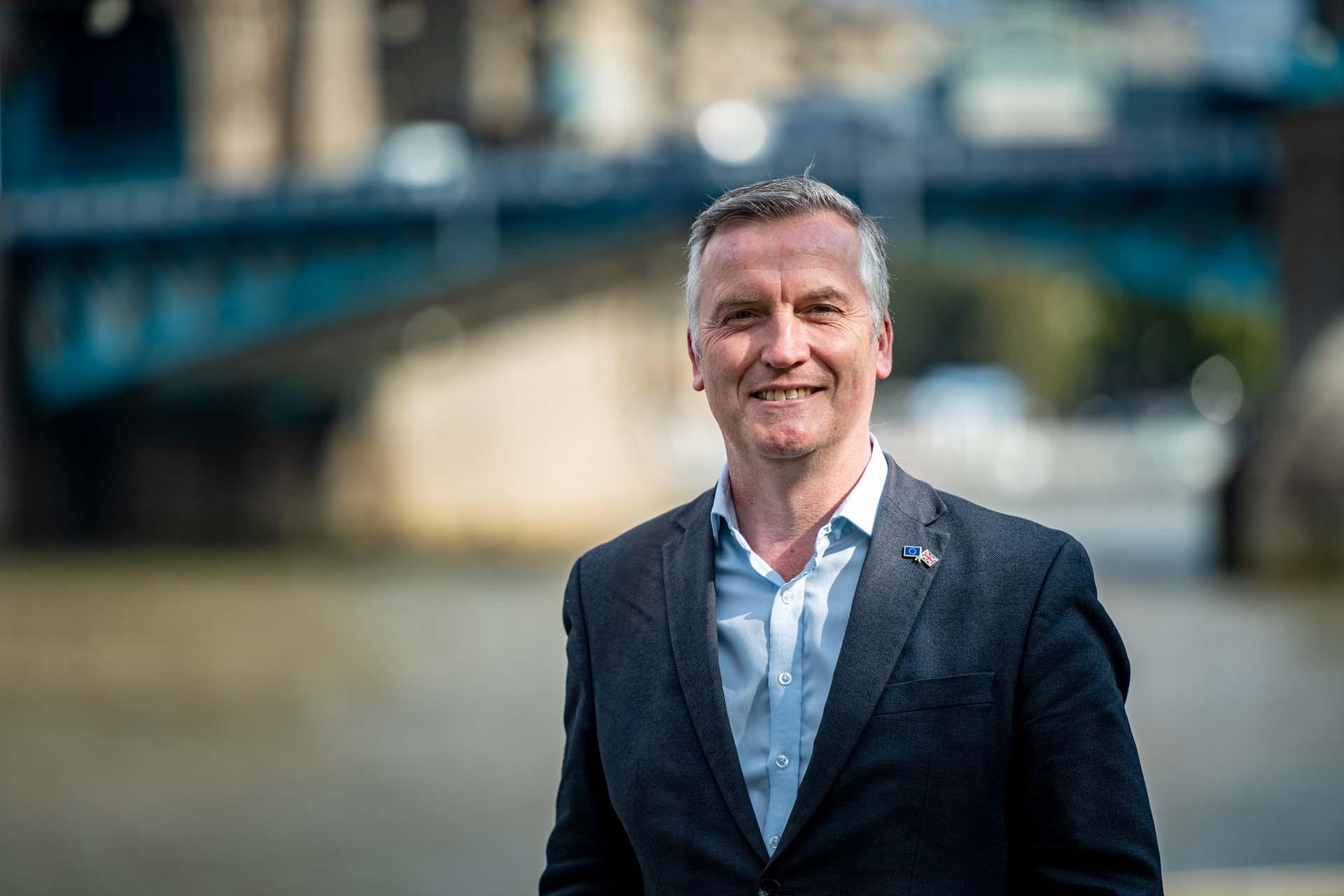 Richmond council leader Gareth Roberts