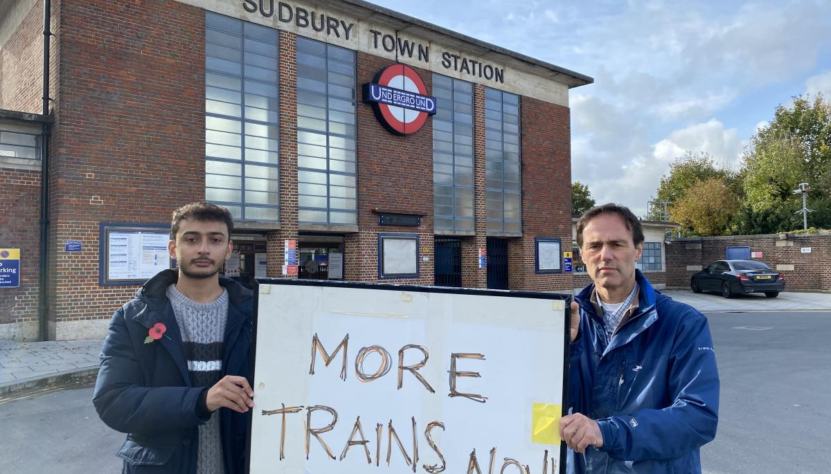 Brent Lib Dems call for more frequent tube service