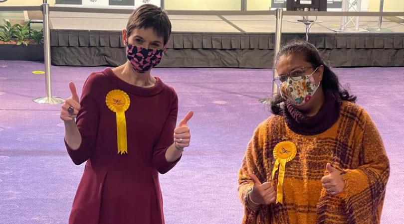 Lib Dems double presence on London Assembly
