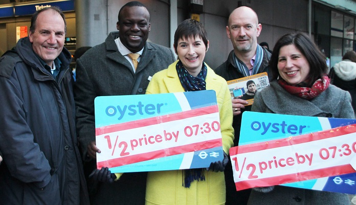 Caroline Pidgeon's half-price fares plan