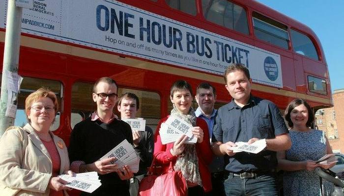 Caroline Pidgeon welcomes adoption of One Hour Bus Ticket