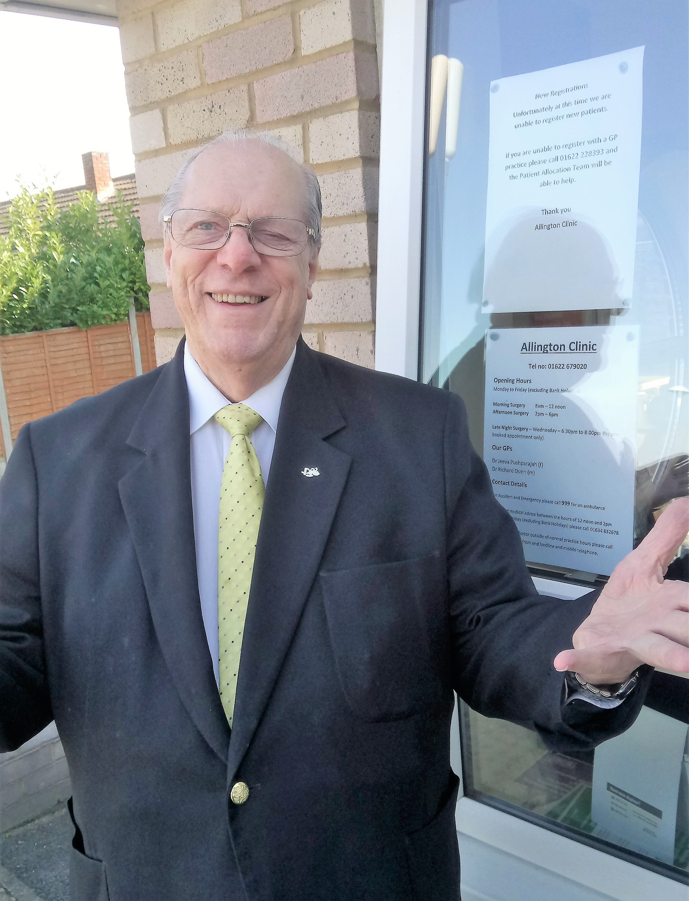 Dan Daley Welcomes New GP Surgery For Allington