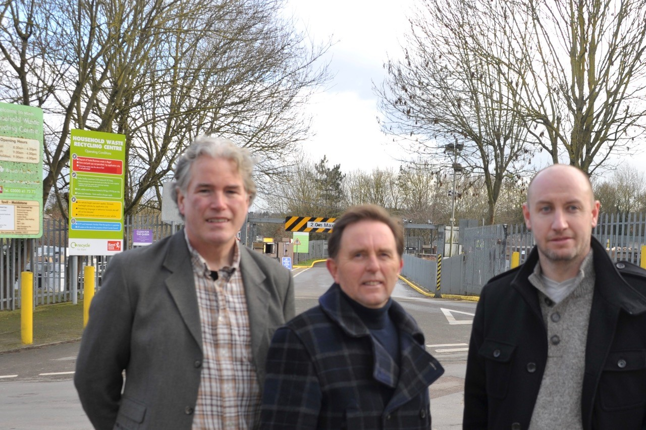 Lib Dem call for additional Household Waste Recycling Centre in Maidstone leads to success at KCC