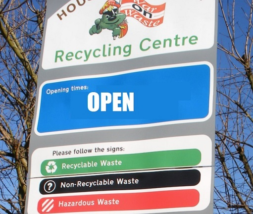 Visiting local recycling centres – Update
