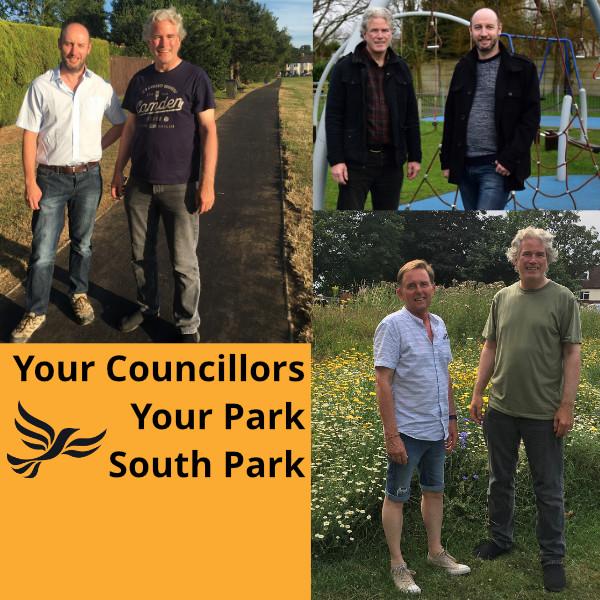 South Ward Lib Dem deliver play facilities, ren...
