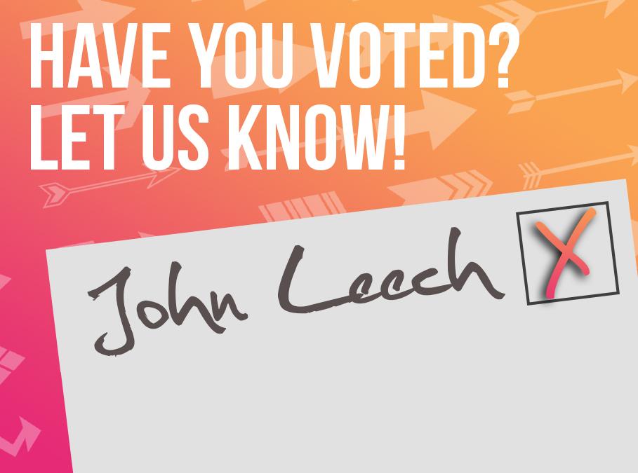 I Voted John 2017!