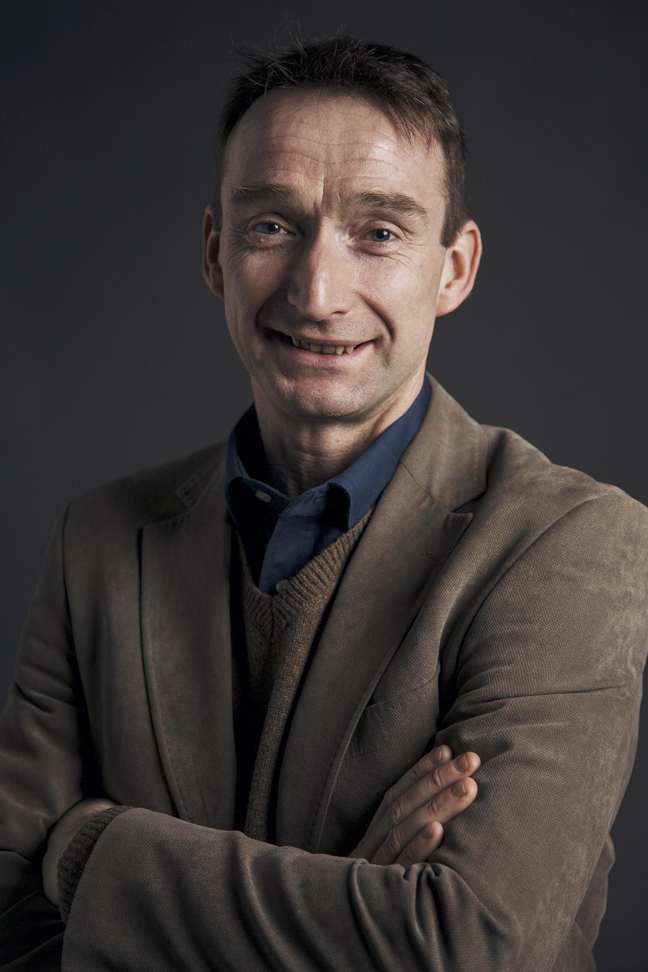 John Leech headshot taken by David McCabe