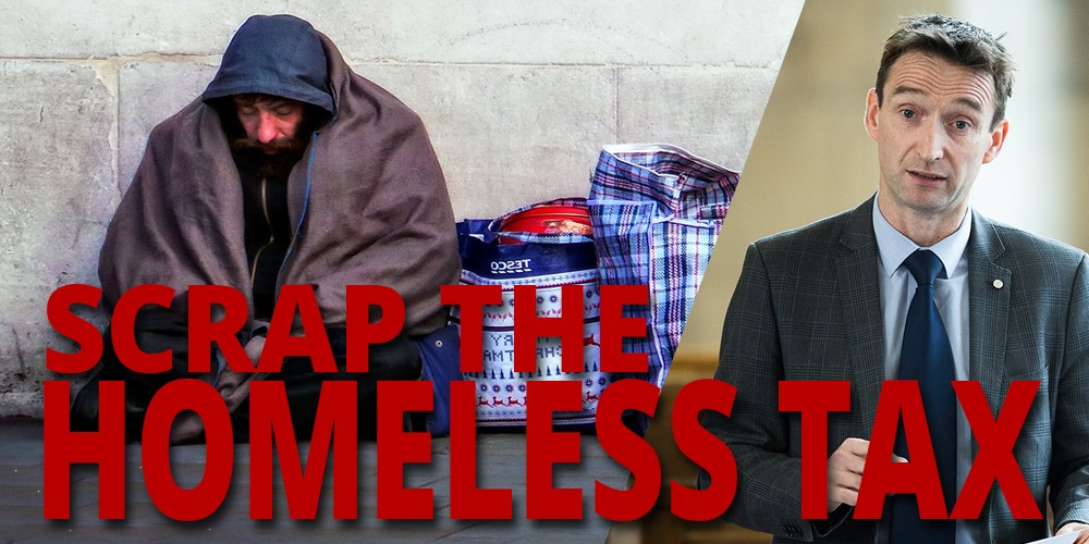 Labour plans to push through Homeless Tax on World Homeless Day scrapped