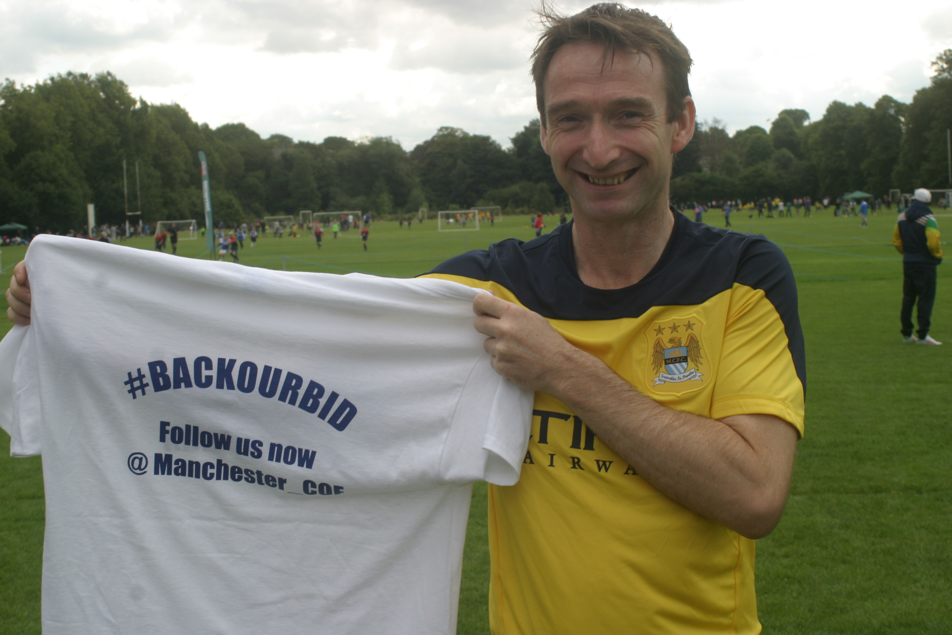 John Leech backing City of Football bid